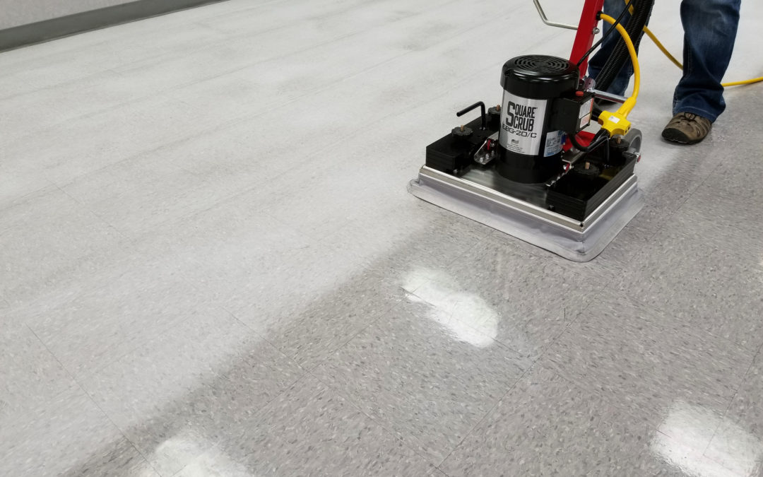 Wet Floor Stripping vs Dry Floor Prep Machines